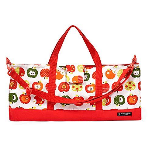ピアニカケース スタンダード 鍵盤ハーモニカ バッグ 袋 おしゃれリンゴのひみつ(アイボリー) N4311900
