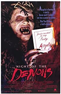 Night of the Demons POSTER Movie (27 x 40 Inches - 69cm x 102cm) (1989)