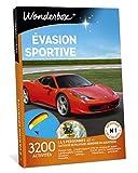 Wonderbox - Evasion Sportive - 3200 Activités pour 1 à 5 personnes (et+) - 1 Activité de pilotage, Aérienne ou Aquatique.