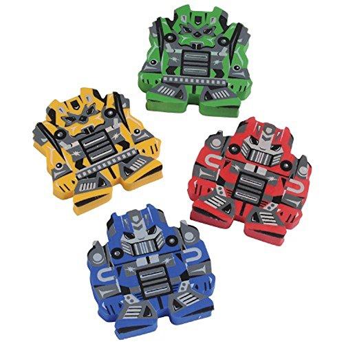 U.S. Toy Battle Bot Erasers