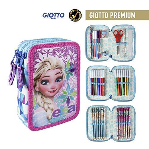 Disney Frozen 2700-197, Astuccio 3 Scomparti, Bambina, Elsa