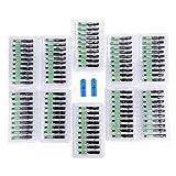 100PCS SC/APC Adaptador de conector de fibra óptica rápido rápido Adaptador de conexión de conector de fibra integrado rápido para FTTH etc