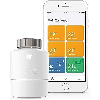 tado° Smartes Heizkörper-Thermostat Starter Kit V3+, Intelligente Heizungssteuerung, Einfach selbst zu installieren, Designed in Germany