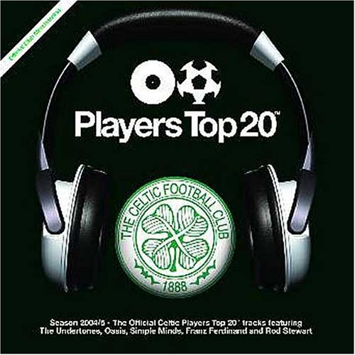 CELTIC FOOTBALL CLUB Players Top 20 CD