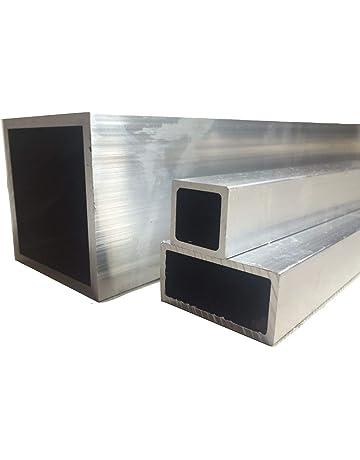 Aluminium Square Tube Box Rectangular 2 m Long 12 mm x 8 mm x 1 mm x 2000 mm