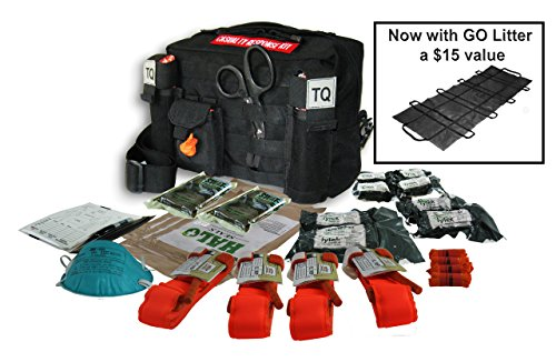 Rescue Essentials Active Shooter Event Casualty Response KIT-Black