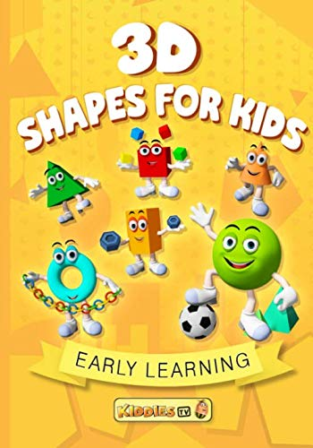 3D Shapes For Kids: Learn 3D Shapes | Preschool Books | Kindergarten | School Books