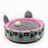 Caseta para mascotas caliente y gruesa para perros pequeños alrededor de cuatro estaciones universal