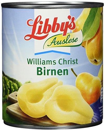 Libbys Birnen, gezuckert, 850ml