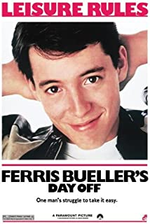 Pyramid America Ferris Bueller's Day Off, Movie Poster Print, 24 by 36-Inch