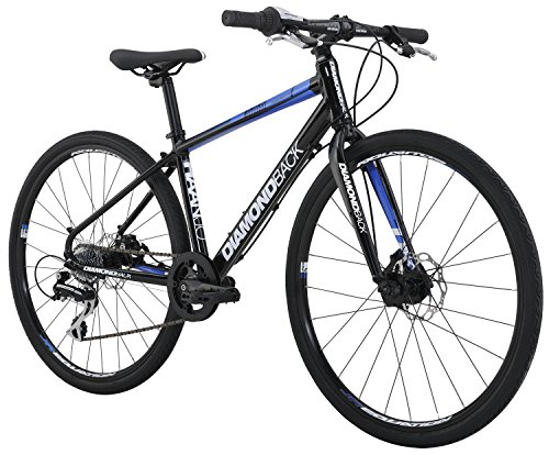 Diamondback Bicycles Youth Haanjo Metro Complete Alternative Road Bike with 24' Wheels, One Size, Black