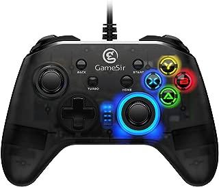 GameSir T4w 有線コントローラー Win7/8/10 PC対応 Steam ゲーム対応 ゲームパッド 振動 連射 【国内正規品/一年間保証/日本語説明書】