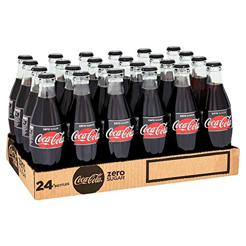 Coke Zero NRB Splits, 24 bouteilles de 20 cl, Coca-Cola Zero Sugar est notre cola sans sucre cola,