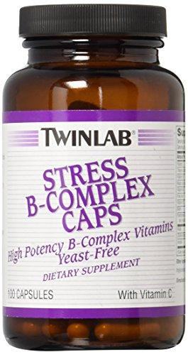 TwinLab Stress B Complex with Vitamin C 100 Caps