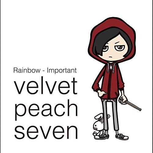Velvet Peach Seven