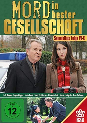 Mord in bester Gesellschaft- [5 DVDs] Sammelbox: Folge 6-10
