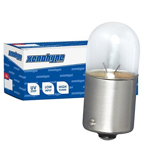 10x R5W XENOHYPE Premium BA15s 24V 5 Watt LKW Kugellampe