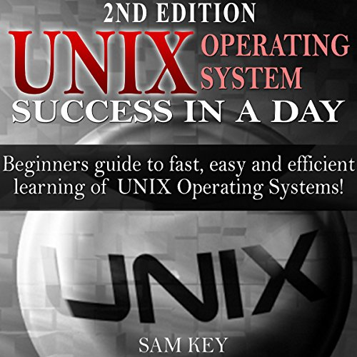Couverture de UNIX Operating System Success in a Day