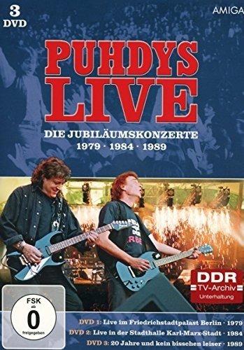 Puhdys - Die Jubiläumskonzerte [3 DVDs]