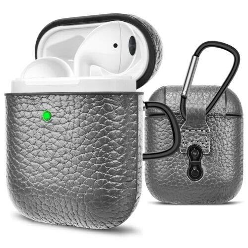 ETbotu premium beschermhoes voor Airpods, zilver.