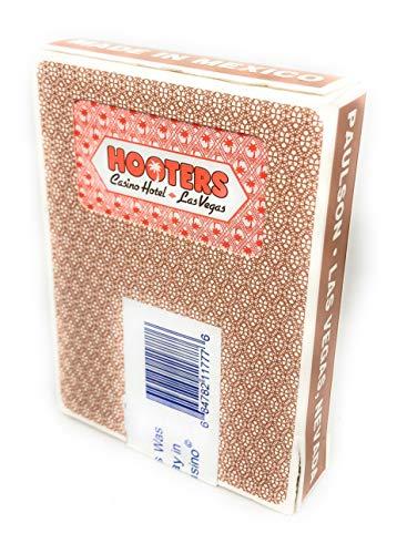 Preisvergleich Produktbild Ultimate Poker Pokerkarten Original Las Vegas Spielkarten Kartenspiel Hooters - rot