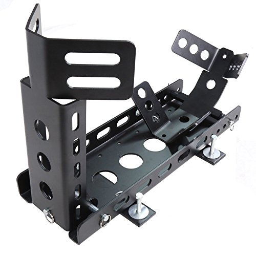 """All Goodly 2"""" Receiver Trailer only Model Motorcycle Locking Stand w/Mounting Kit Adjustable"""