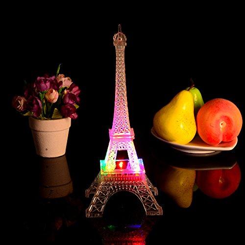 Gaddrt Romantische Eiffelturm LED Nachtlicht Lampe Schreibtisch Tisch Home Schlafzimmer schmücken Gif LED-Licht