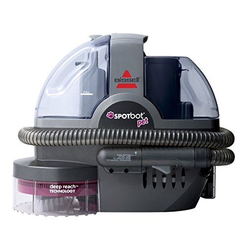 Review Of BISSELL SpotBot Pet Handsfree Spot and Stain Portable Carpet 33N8A (Renewed)