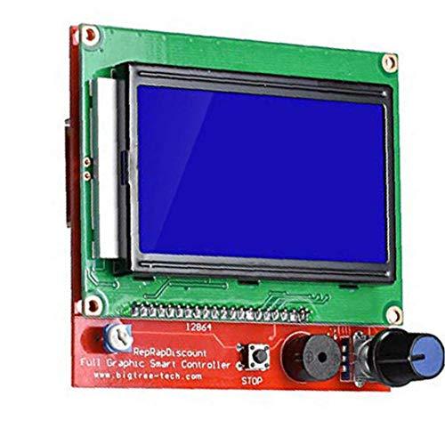 xiaocheng LCD De La Impresora 3D Panel De Control LCD Ramps1.4 12864 Panel De Control LCD De Pantalla Verde Regalos Tarjeta del Controlador para La Familia Y Amigos