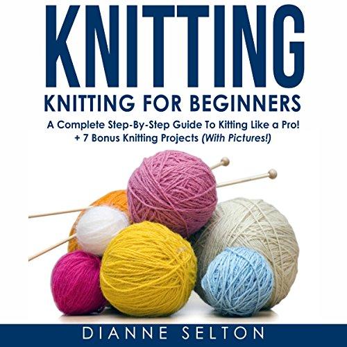 Knitting: Knitting for Beginners audiobook cover art