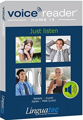 Voice Reader Home 15 Italienisch - männliche Stimme (Luca): Das Vorleseprogramm der Extraklasse