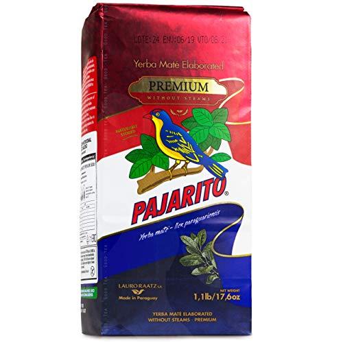 Pajarito Yerba Mate Premium Despalada 500 g Mate Tee aus Paraguay Ohne Stängel