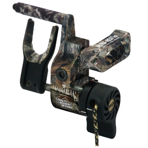 Quality Archery Products Ultra-Rest Pro Series Arrow Rest with Harmonic Dampener