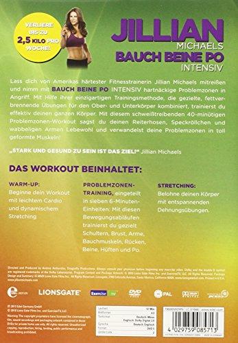 Jillian Michaels – Bauch, Beine, Po intensiv -DVD - 2