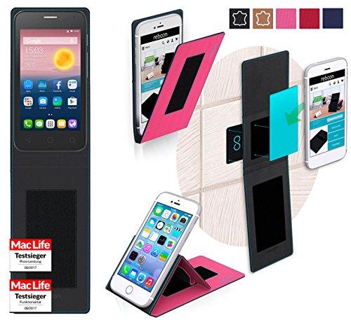 Hülle für Alcatel OneTouch Pixi First Tasche Cover Hülle Bumper   Pink   Testsieger