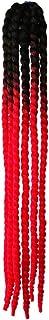 KLOP256 Casco de pelo femenino de la decoración de Hong para la motocicleta Rampa Trenzas de la Rampa de Caballo Ventosa B...