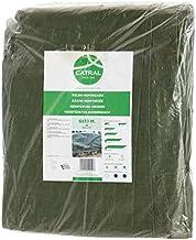 Catral Duitsland polyethyleen dekzeil, maat 120, 4 x 6 m, groen, 43 x 33 x 7 cm, 56010004