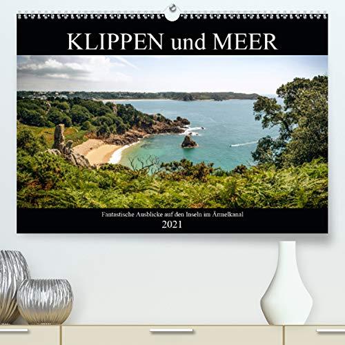 Klippen und Meer. Fantastische Ausblicke auf den Inseln im Ärmelkanal (Premium, hochwertiger DIN A2 Wandkalender 2021, Kunstdruck in Hochglanz)