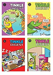 7 Tinkle Digest - Amazon - Includes Tales of Tantri Mantri, Suppandi & Shambhu