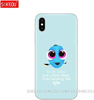 Inspired by finding nemo & dory Phone Case Compatible With Iphone 7 XR 6s Plus 6 X 8 9 Cases XS Max Clear Iphones Cases TPU Silicone - Ray Books 4T - Jesse Book Pig - 32890549748