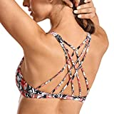 CRZ YOGA Sujetador Deportivo Yoga para Mujer Ejercicio Fitness Ropa Interior Leafy Multi 1 XS