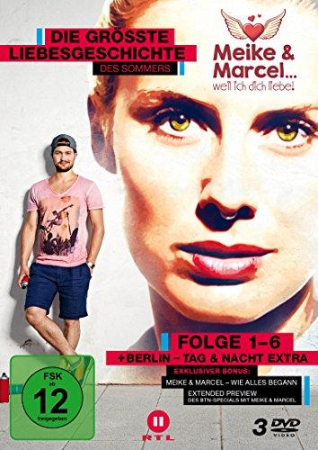 Meike & Marcel.. weil ich dich liebe - Folge 1-6 [3 DVDs]