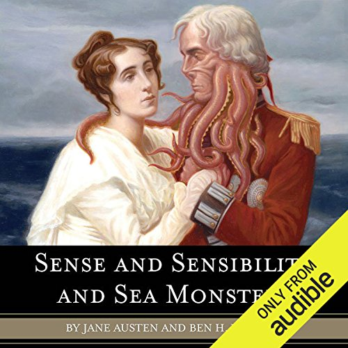 Sense and Sensibility and Sea Monsters  cover art