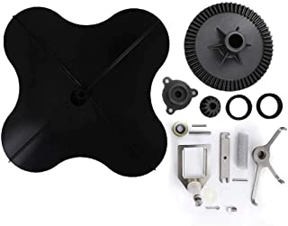 Rittenhouse Complete Lesco Spreader Repair Kit with Ultra Plus Impeller and Permagreen T422400PLUS Agitator
