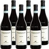 Barbera D'Alba DOC   Ca' del Baio   Paolina   Vino Rosso del Piemonte   Confezione 6 Bottiglie 75 Cl   Idea Regalo