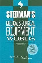 Stedman's Medical & Surgical Equipment Words (Stedman's Word Book Series)