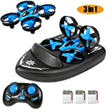 Mini Drone for Kids Adults - JJRC Upgraded Model H36F 3 in 1 RTF RC Quadcopter...