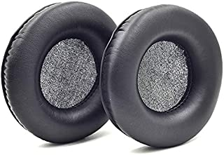 Replacement Cushion Ear Pads Seals for JBL SYNCHROS E50BT E50 S500 S700 Wireless Headphones (Black)