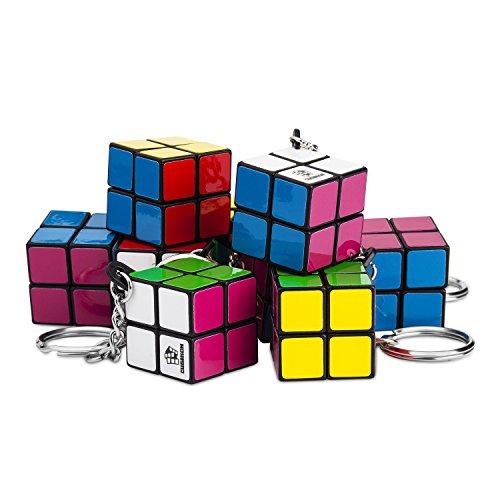 10 Stück Mini 2x2 Zauberwürfel als Schlüssel-Anhänger - z.B. Geburtstags-Mitgebsel - Firmengeschenke - Kindergeburtstag