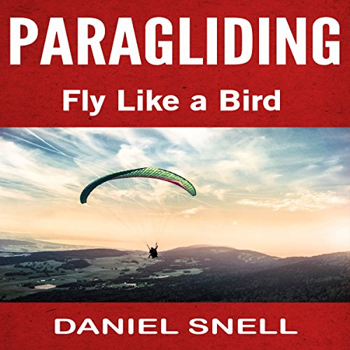 Paragliding audiobook cover art